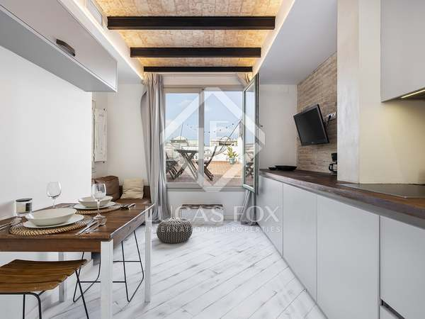 ático de 34m² con 60m² terraza en venta en Eixample Derecho
