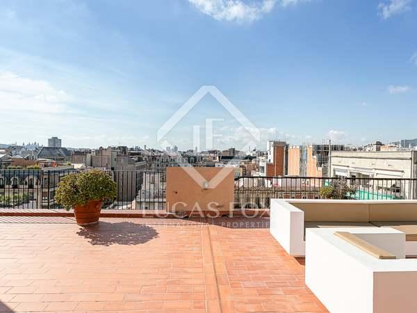 Penthouse van 223m² te koop met 123m² terras in Eixample Rechts