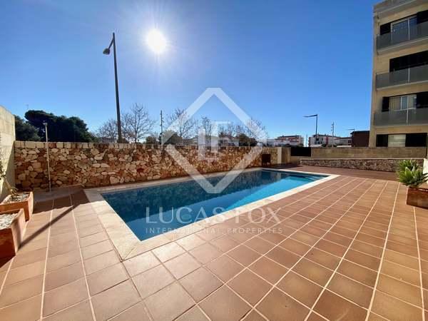 Appartement van 53m² te koop met 60m² Tuin in Ciudadela