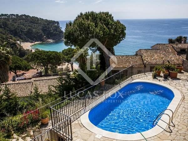 Costa Brava-Immobilie zum Verkauf, Cala Canyelles, Lloret de Mar