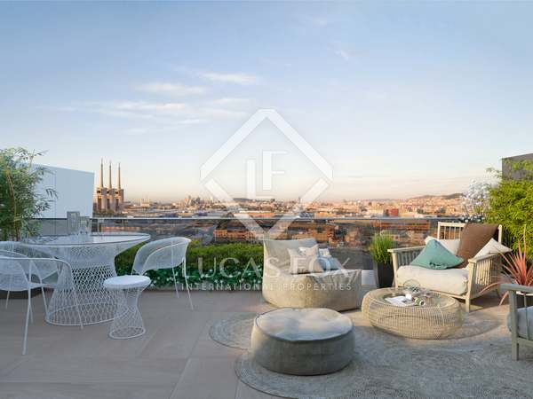 Piso con 46 m² de terraza en venta en Badalona, Barcelona