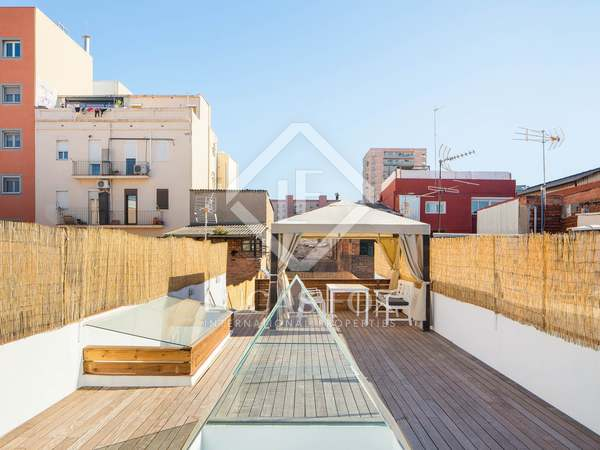 112 m² house with 110 m² terrace for sale in Poblenou
