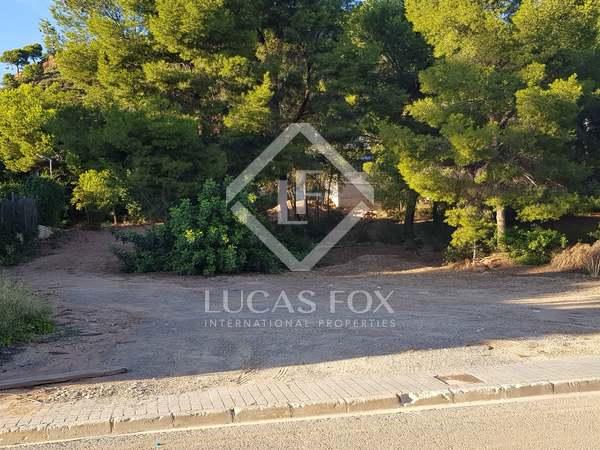 Perceel van 1,187m² te koop in Los Monasterios, Valencia