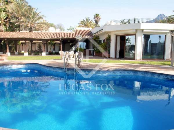 Beachside property for sale on the Golden Mile, Marbella