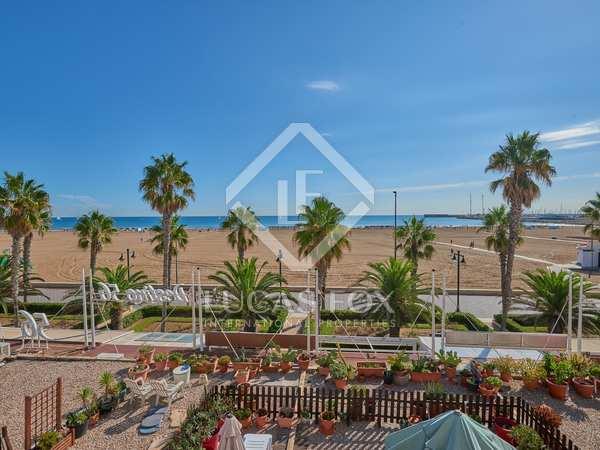 Appartement van 150m² te huur met 20m² terras in Playa de la Malvarrosa