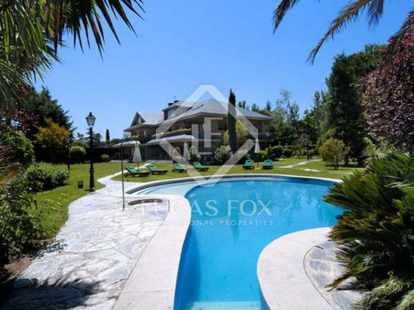 Luxury villa for sale in Aravaca, Madrid