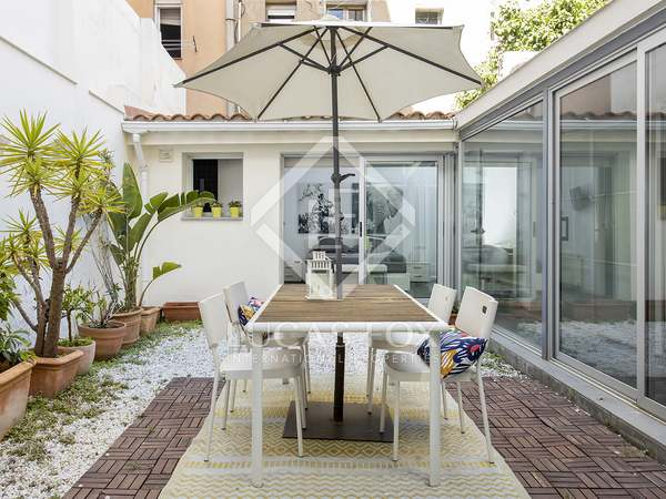 90m² Apartment with 40m² terrace for rent in Gràcia