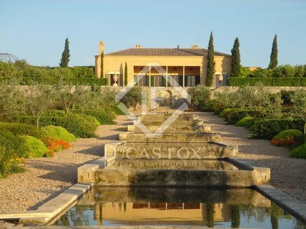 Magnifik herrgård till försäljning i centrala Mallorca