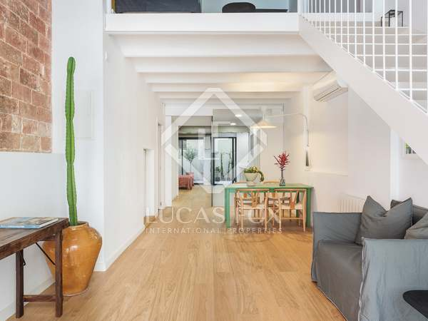 162m² apartment with 15m² terrace for sale in Poblenou
