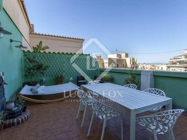 Penthouse van 289m² te huur met 30m² terras in Sant Francesc