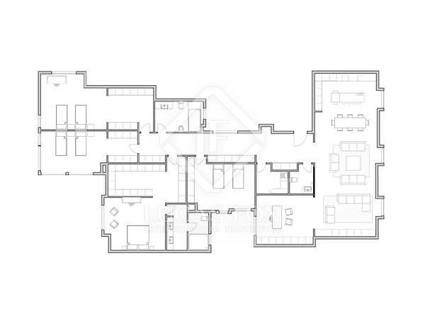 255m² Wohnung mit 20m² terrasse zum Verkauf in Sant Francesc