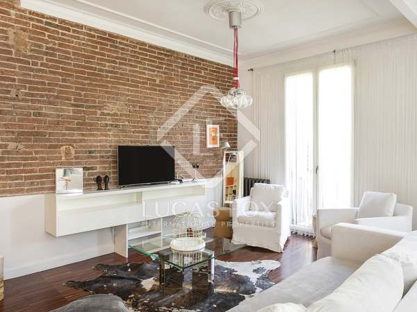 Loft apartment for rent in Eixample Left Barcelona