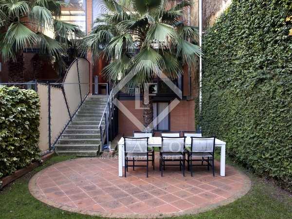 Casa de lujo en venta ubicada en la Zona Alta de Barcelona.