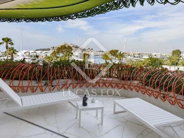 Piso de lujo nuevo en venta en el puerto de Botafoch, Ibiza