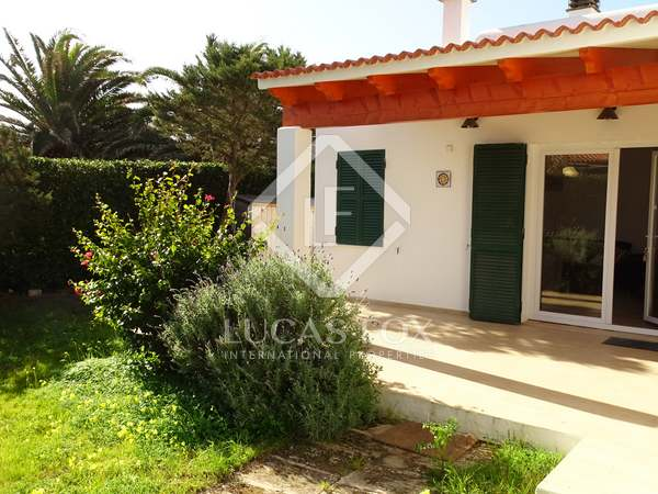40m² Apartment with 150m² garden for rent in Ciudadela