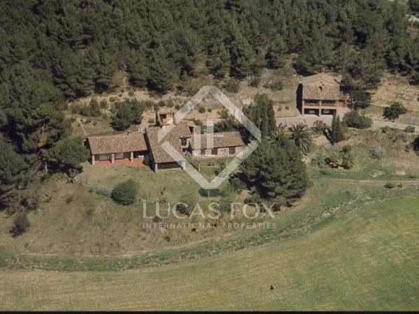 Masía de 735m² con de jardín en venta en Sant Cugat
