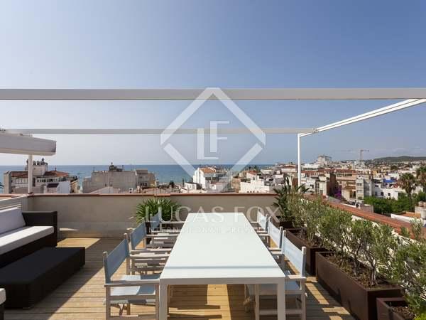 100m² Takvåning med 80m² terrass till salu i Sitges Town