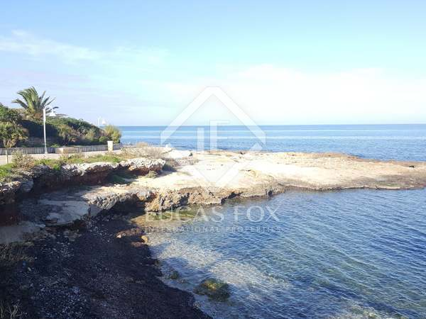 Exclusive plot with sea views for sale in Las Rotas