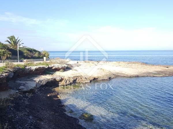 Exclusive plot with sea views for sale in Las Rotas