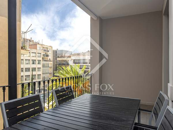115m² Apartment with 10m² terrace for rent in Eixample Right