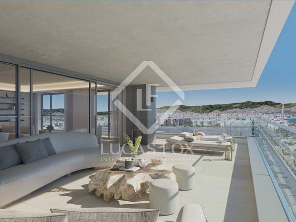 209m² Apartment with 81m² terrace for sale in Centro / Malagueta