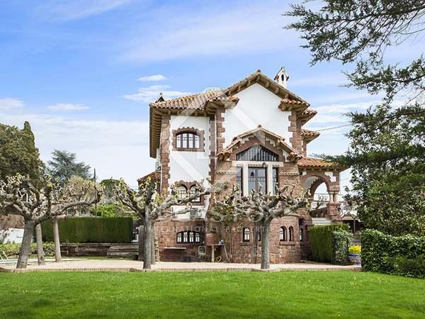 Bonita y singular casa en alquiler en Valldoreix