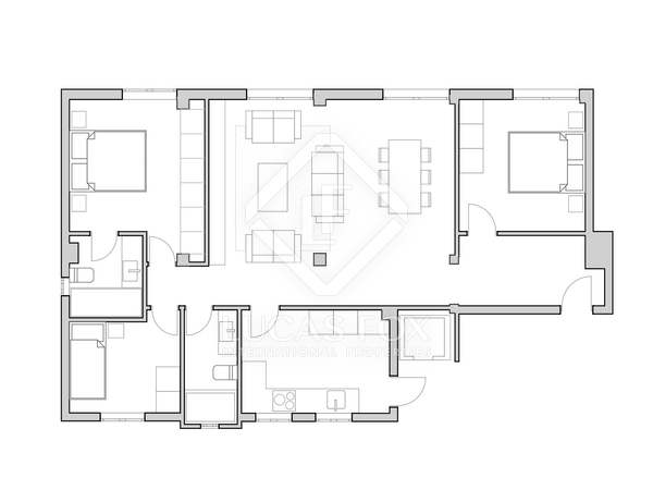 Piso de 107 m² en venta en El Pla del Remei, Valencia