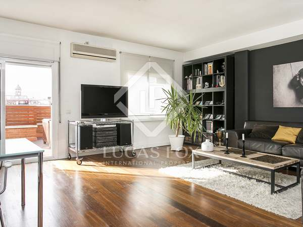 100 m² penthouse for rent in Eixample Right, Barcelona