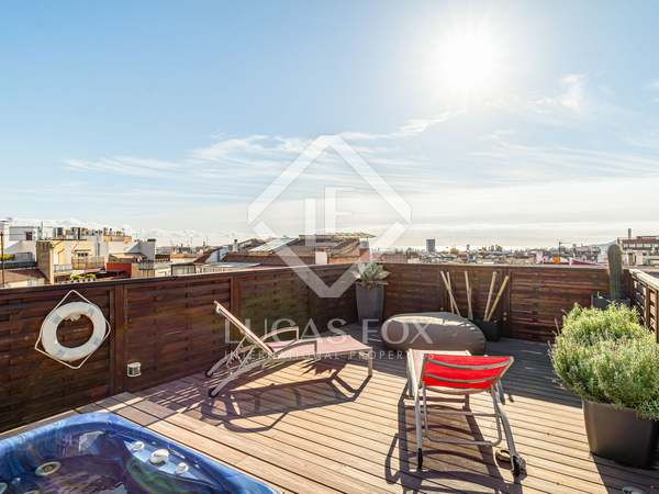 213m² Penthouse with 118m² terrace for sale in Sant Gervasi - La Bonanova