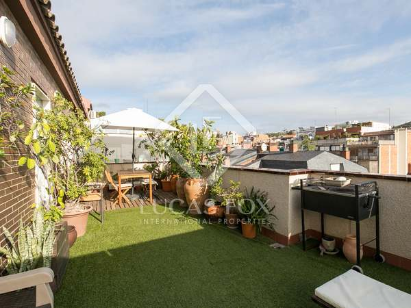 152m² Penthouse with 31m² terrace for sale in El Putxet