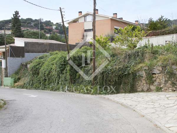 583m² building plot for sale in Cabrils on the Maresme Coast