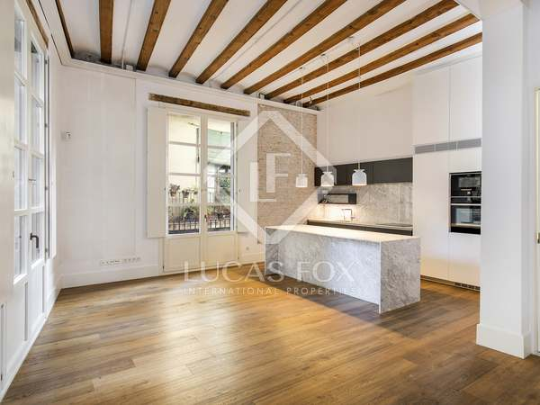 126 m² apartment for rent in the Gothic area, Barcelona