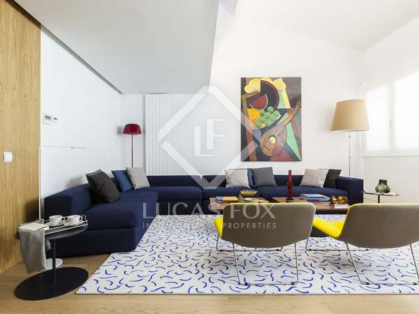 24 exclusive apartments for rent in the Chamberí, Madrid