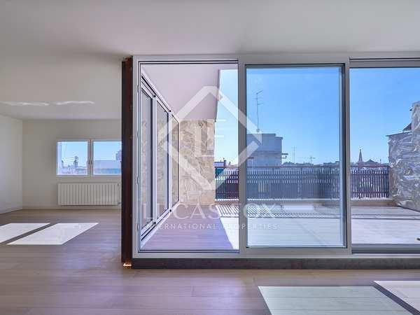 penthouse van 158m² te huur met 20m² terras in Sant Francesc