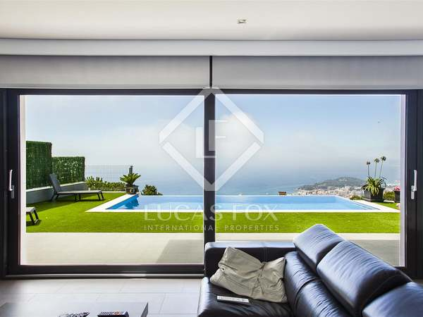Luxury Costa Brava villa for sale in Lloret de Mar