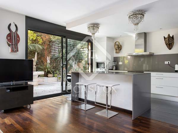 130m² Apartment with 46m² terrace for rent in Poblenou