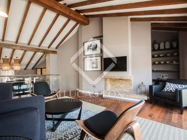 Amazing duplex penthouse for sale in Valencia Old Town