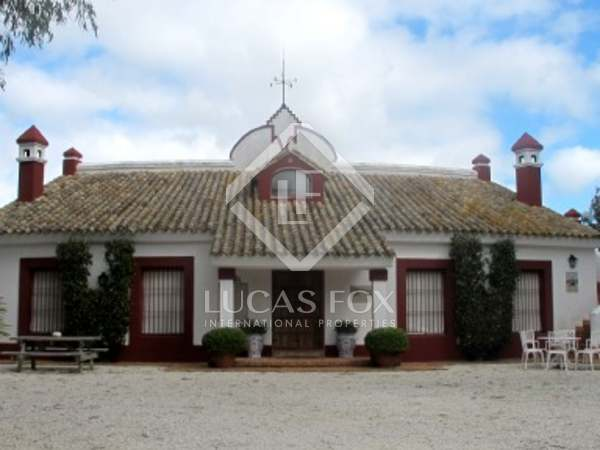 Landsitz mit Ställen zum Verkauf nahe Jerez, Andalucia