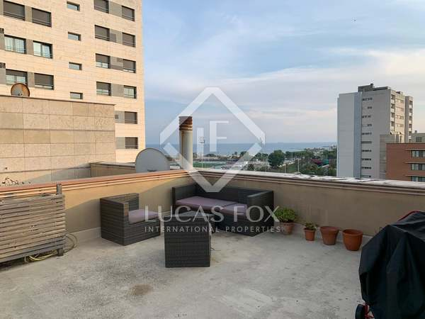 127m² Penthouse with 63m² garden for sale in Poblenou