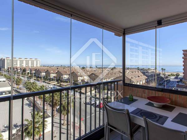 127m² apartment with 10m² terrace for sale in Alboraya
