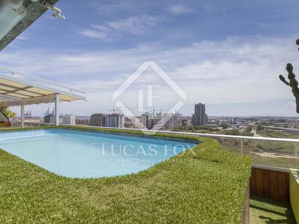 345m² Penthouse with 110m² terrace for sale in Ciudad de las Ciencias