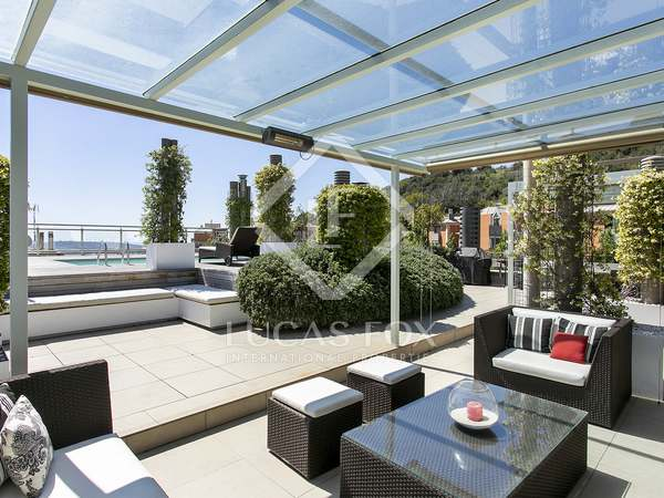 339m² Penthouse with 361m² terrace for sale in Sant Gervasi - La Bonanova