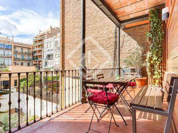 168m² Lägenhet med 10m² terrass till uthyrning i Eixample Höger