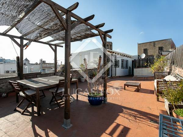 150m² Penthouse with 60m² terrace for sale in Gótico