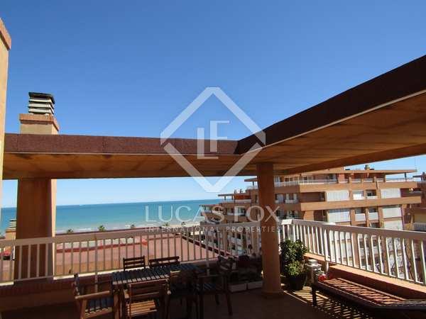 Penthouse van 137m² te huur met 60m² terras in Patacona / Alboraya