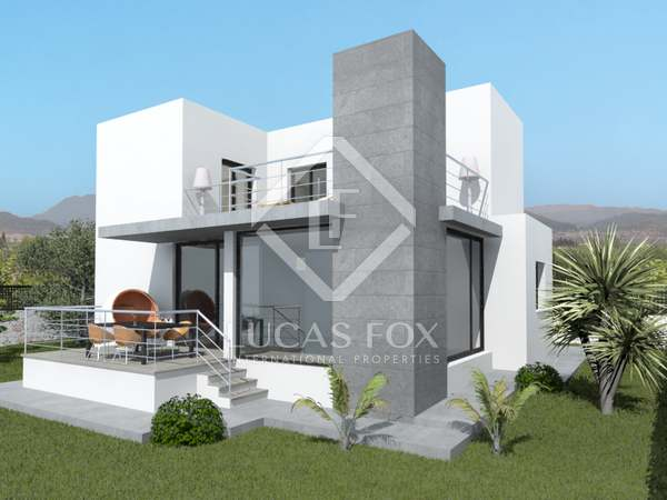 416m² plot with a building project for sale in Dénia