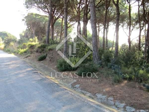 Building plot for sale on Barcelona Maresme Coast
