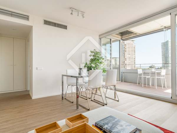 92m² Apartment with 10m² terrace for sale in Diagonal Mar