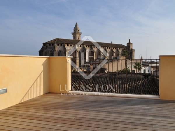 Ático en venta en el casco antiguo de Palma de Mallorca.