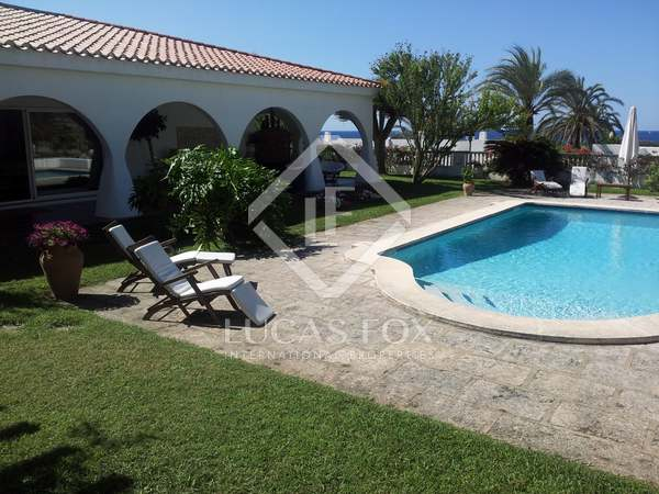 200 m² villa with 1,800 m² garden for sale in Menorca